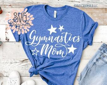 bb43230147 Gymnastics Mom SVG File Gymnastic Mom Shirt SVG Gymnastics Mom Gymnast  Tumble Squad Mom Vibes SVG