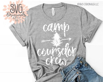 d713b8db3c5b Counselor SVG Camp Counselor Crew SVG Counselors Counselor Shirt Church  Grunge SVG