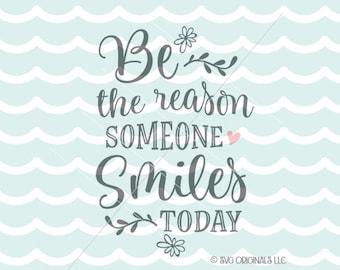 Smile Quote Etsy