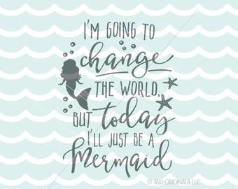 Mermaid Quotes Mermaid quote   Etsy Mermaid Quotes