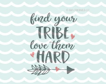 Find Your Tribe Svg Etsy