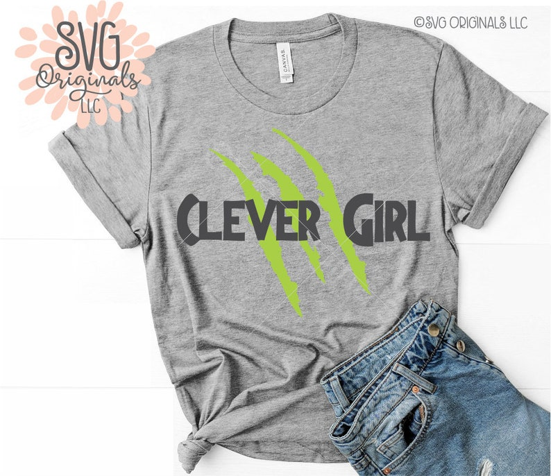 Clever Girl Raptor: Raptor SVG Clever Girl SVG File Muldoon Velociraptor Shirt