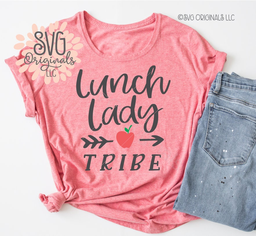 dc9420b49 Lunch Lady SVG Lunch Lady Shirt SVG School Lunch Canteen Lunch   Etsy