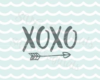 Valentine Love SVG xoxo SVG Vector File. Cricut explore and more! Love Valentine's Day Wedding and so much more! Love XOXO