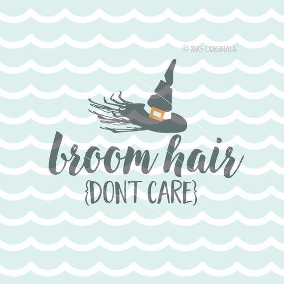 Witch Hair Svg Halloween Svg File Cricut Explore Amp More