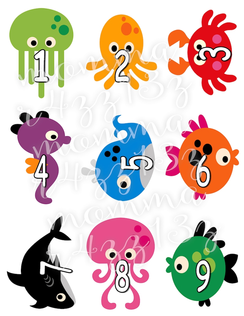 Digital Downloadable Under the Sea Match Game