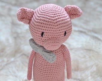 Amigurumi Pig Doll