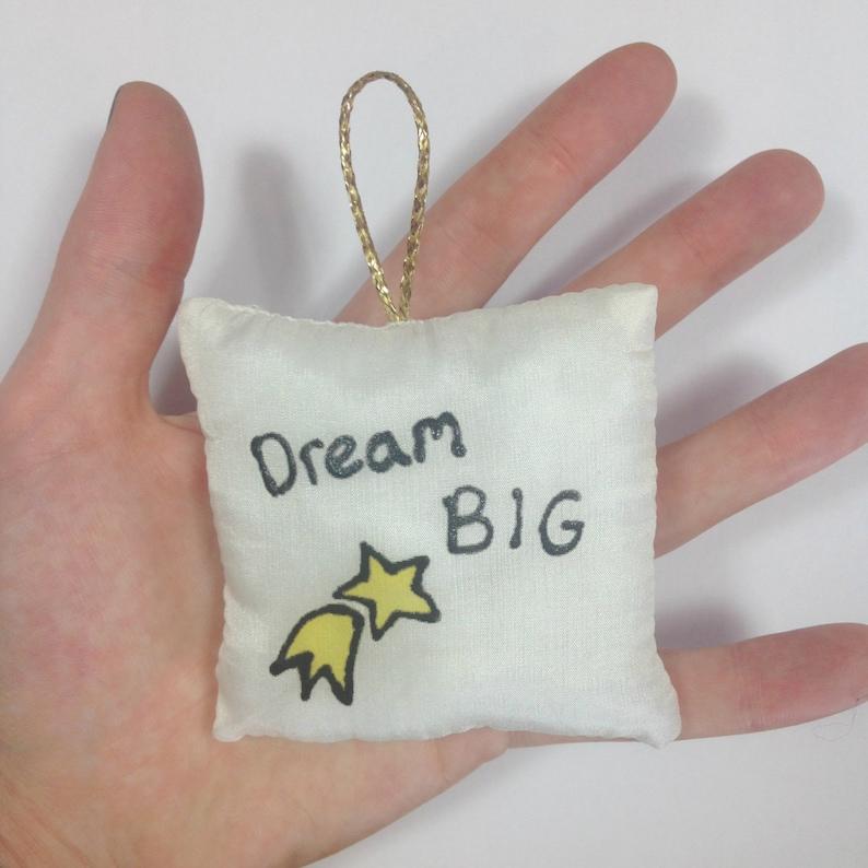 Dream Big Pocket Calmer Stress Ball Positive Quotes Mental Health Recovery Anorexia Recovery Depression Inspirational Dorm Decor