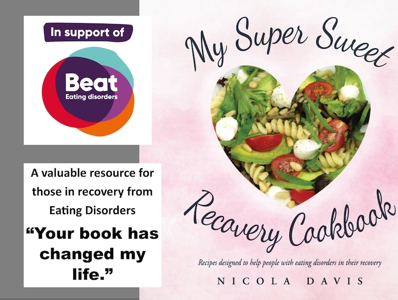 SALE Anorexia Recovery Book My Super Sweet Recovery Cookbook image 0