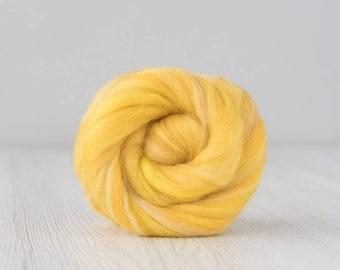 Corn Extra Fine Merino Wool RovingNeedle Felting Wool Rovingweaving wet feltingfinger roving  wool for Spinning  fiber art diy
