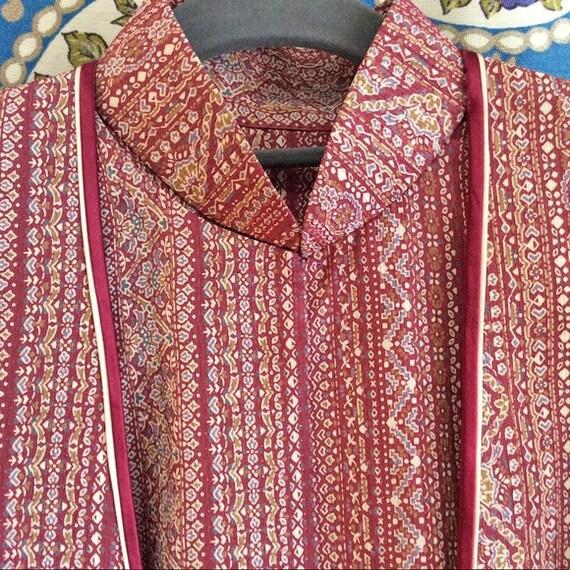 Silk Mandarin Collar Floral Dress & Jacket Set