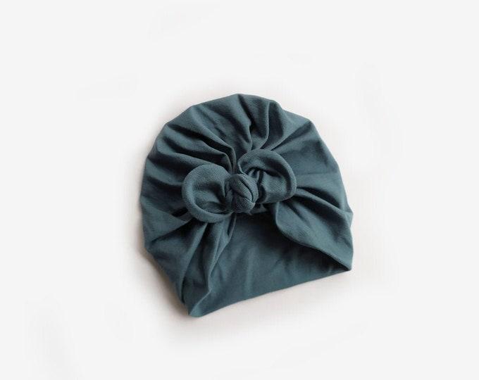 Aurora Turban, New, Bow Turban,  New  Born  bow turban, turban, Bow Headband Hat