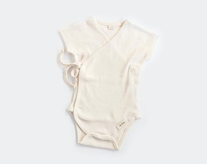 Kimono, Organic cotton, BIO, New, Baby Kimono,  New  Born, Raw