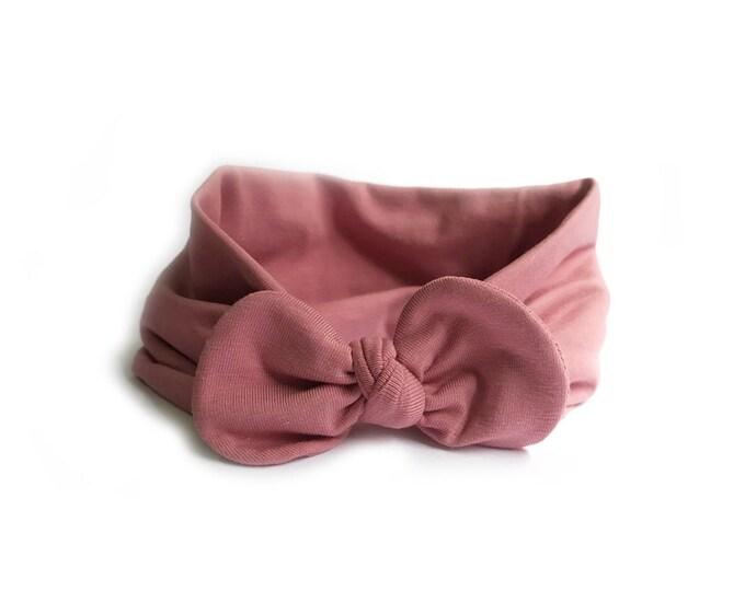 Susana Headband, Bow headwrap, New  Born  bow turban, turban, Bow Headband Hat