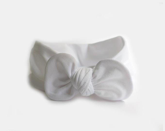 Agnes Headband, Bow headwrap, New  Born  bow turban, turban, Bow Headband Hat