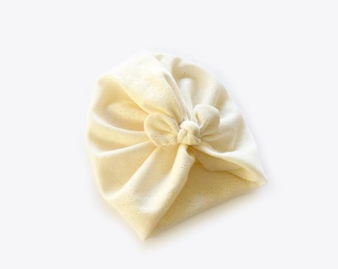 Organic cotton, BIO, New, Bow Turban,  New  Born  bow turban, turban, Bow Headband Hat, baby turban, Newborn hat, turban bébé