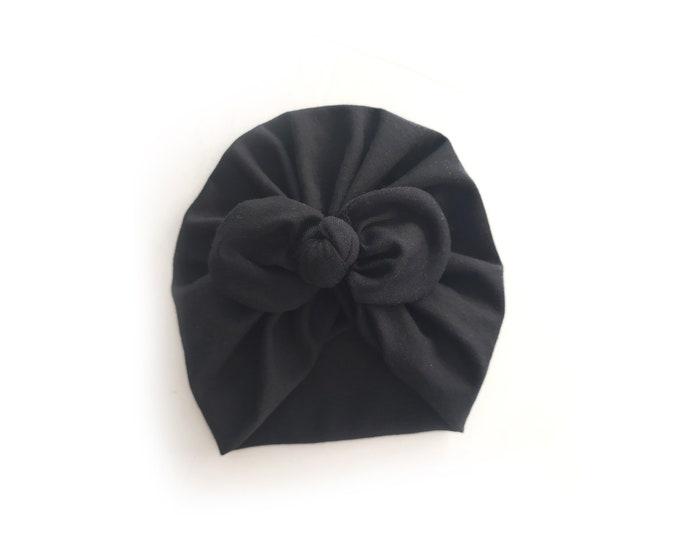 Ingrid Turban, , Cotton  Bambú Turban , New, Bow Turban,  New  Born  bow turban, turban, Bow Headband Hat