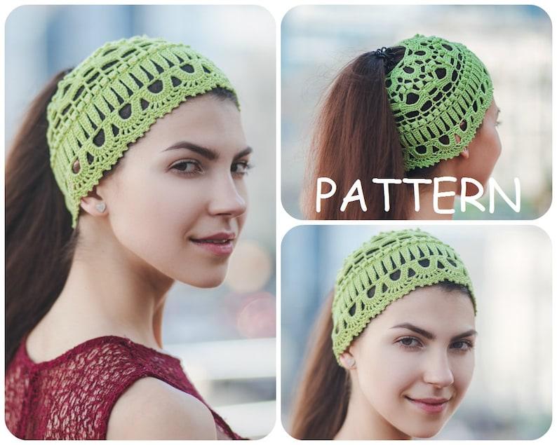 08bb9aa7441 Written Crochet Hat Pattern PDF Women s Vintage Look