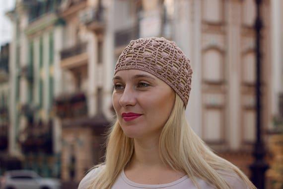 Street Fashion Damen Hut Tannen Zapfen Beanie Beige Sommer | Etsy