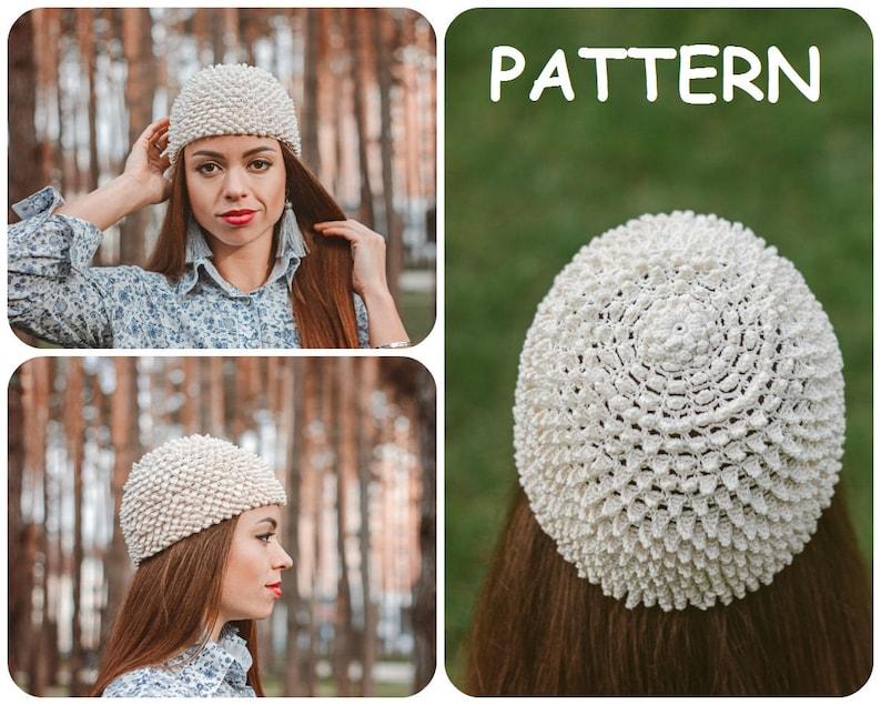 Crochet Hat Written Pattern Cancer Beanie Crochet Pattern Etsy