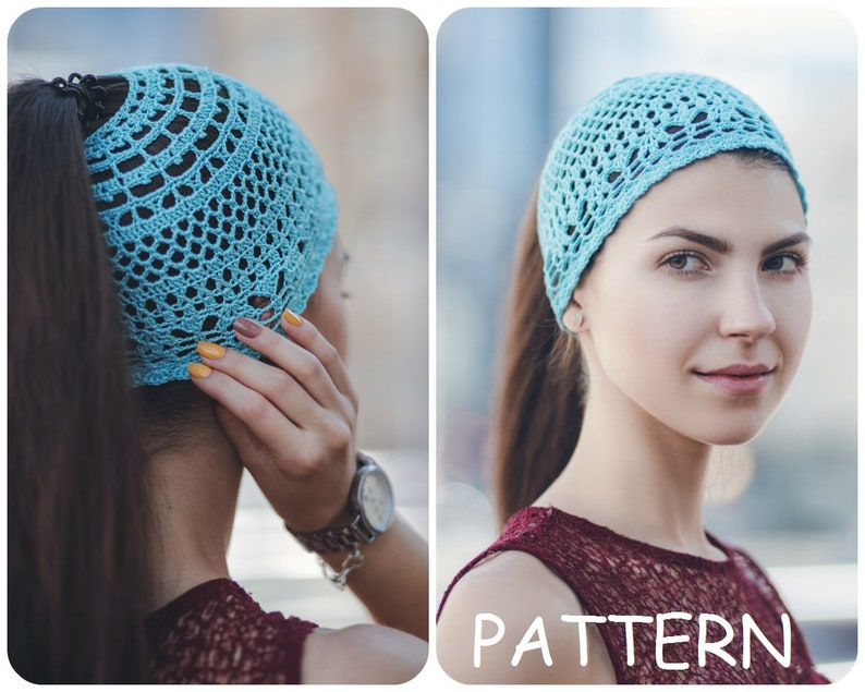 ef11cdd86c0 Sun Hat Pattern Retro Hat Crochet Pattern Lace Crochet