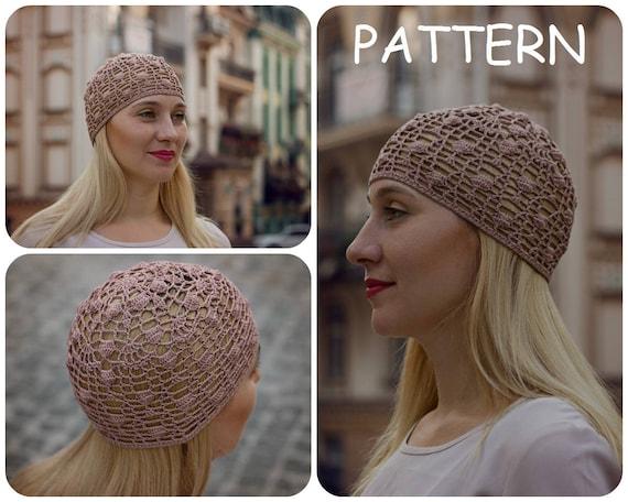 Crochet Pattern Hat Crochet Hat Pattern For Women Bobble Etsy