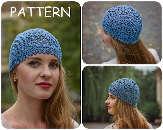 Crochet Summer Hat Pattern Pdf Unique Handmade Scheme For Etsy