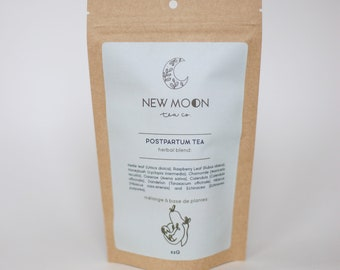 Postpartum Tea for Well Being | ORGANIC | Small Batch, Hand Blended | New Moon Tea Co.