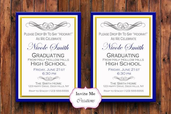 Invitations for High School Graduation