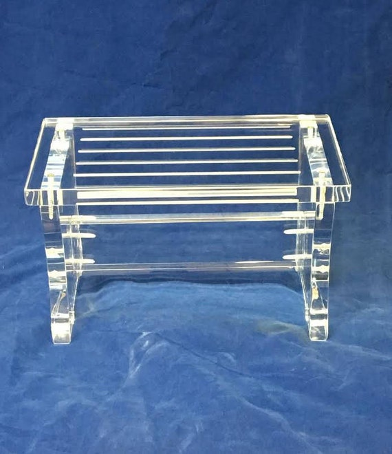 Prime Clear Acrylic One Step Stool Gmtry Best Dining Table And Chair Ideas Images Gmtryco