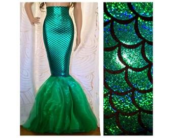d206ff8d20cb4 Mermaid skirt   Etsy