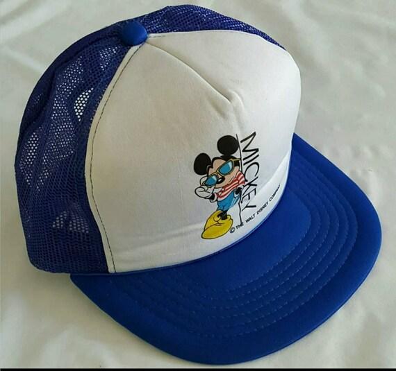 Disney Hat, Mickey Mouse Hat, Snapback, Trucker Ha