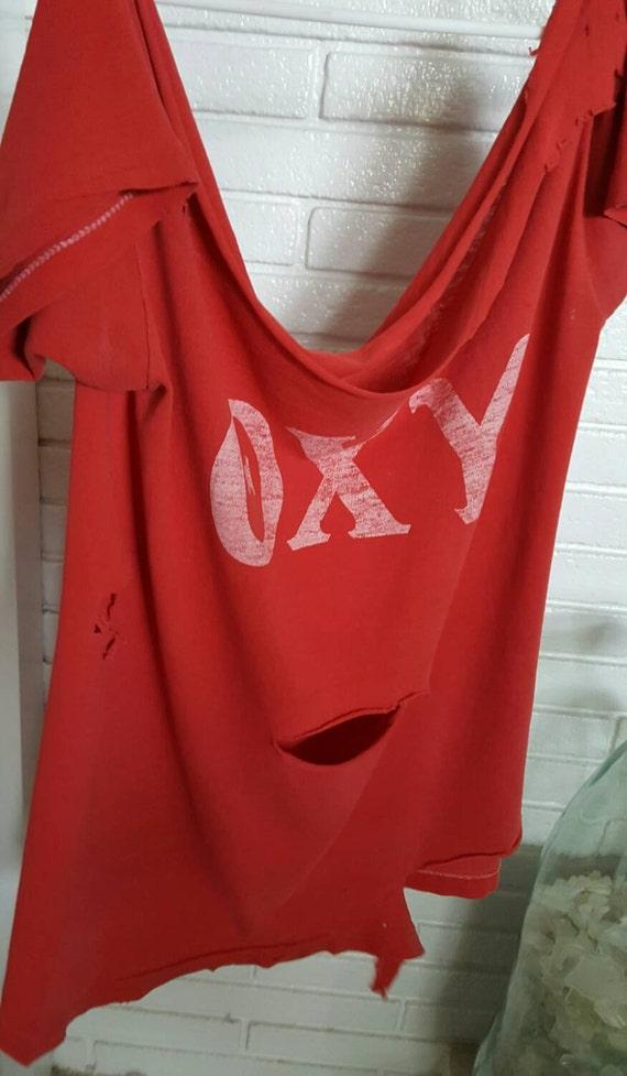 Oxy Shirt, Vintage Band T shirt, Band shirts, Vint