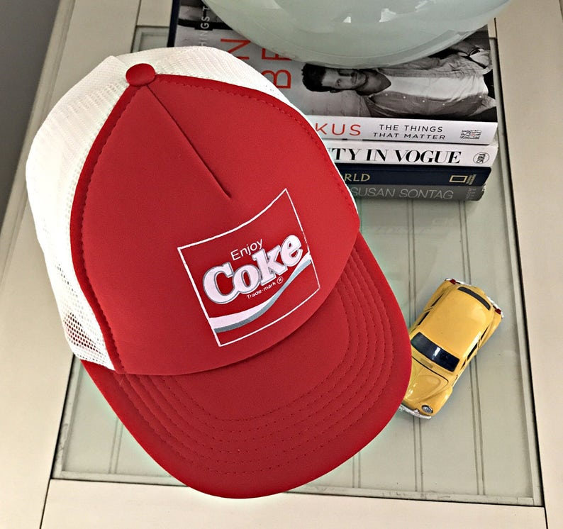 4b74a843b02 Vintage Trucker Hat Snapback Hats Cap Baseball Hat