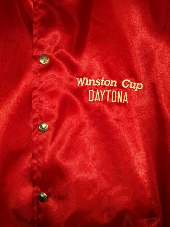 Satin Jacket, Windbreaker Jacket, Vintage Windbrea