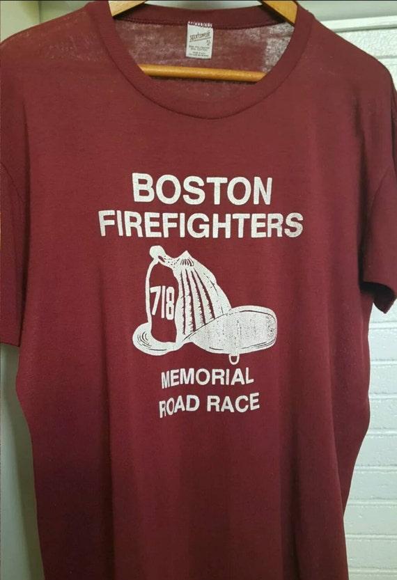 Vintage T Shirt, Marathon Shirt, Boston Marathon S