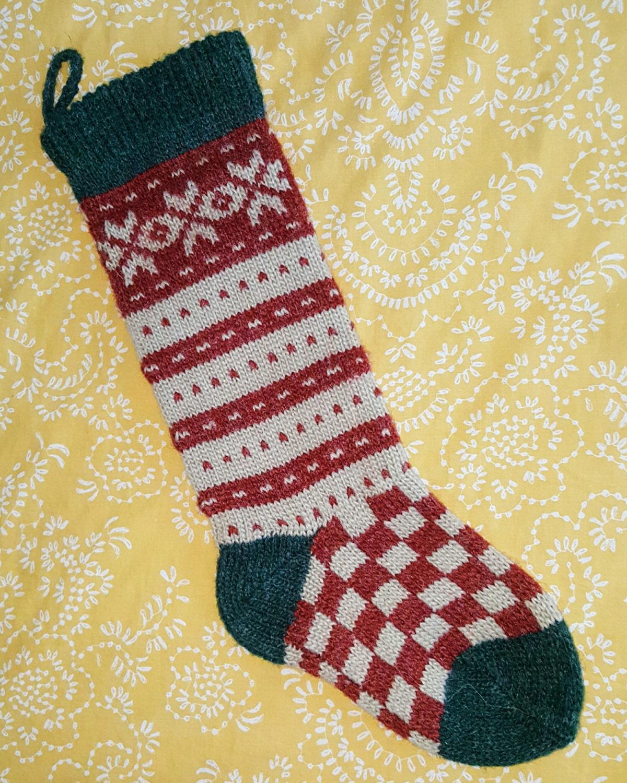 Christmas Stockings Knit Christmas Stocking Christmas | Etsy