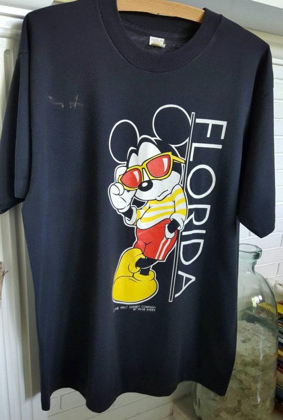 Vintage Mickey Mouse Shirt, Vintage Disney Shirt,