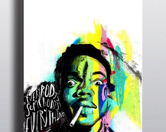 Chance The Rapper Illustration - High Quality A3 / A2 Print