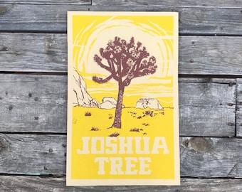 Joshua Tree National Park Poster 11x17