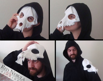 Wolf Skull Mask, Blank Cast Resin Skull, Canine Skull Face Mask, Dog Skeleton Mask, Scary Wolf Mask, Realistic Skull, Coyote Skull Masque