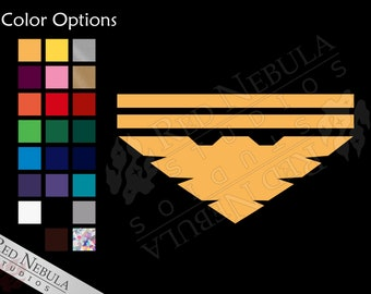 Archangel Vinyl Decal - Garrus Vakarian Mass Effect Sticker - Multiple Color and Holographic Options