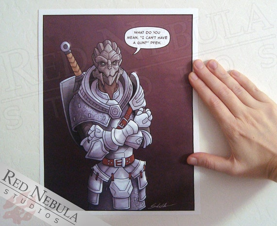 Turian In Dragon Age Armor Mass Effect Humor Fanart Comic Etsy Old dragon armor solid health and defense, not as useful as damage or mana sets though. turian in dragon age armor mass effect humor fanart comic art print 8 5 x 11 in