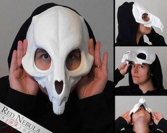 Rat Skull Mask, Blank Cast Resin Skull, Rodent Skull Face Mask, Rat Skeleton Mask, Realistic Skull, Mouse, Rabbit, Lagomorph, Creepy Mask