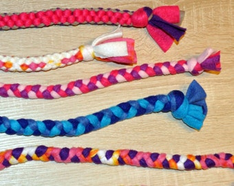 Dog Braided and Knotted Tug Toys