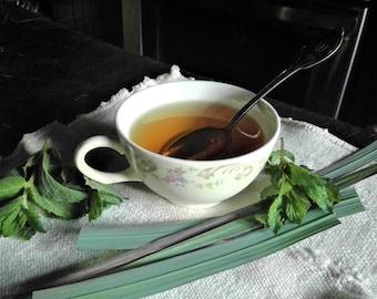 Sunny Day (Double Mint and Lemongrass Loose Organic Tea)