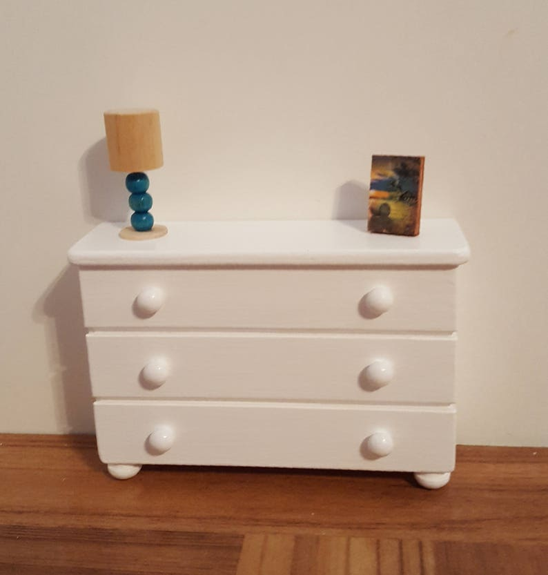 Side Table Bureau.Bureau Or Side Table For Playscale Dolls 1 6 Scale Furniture 1 6 Scale Bureau 1 6 Scale Table Barbie Size Wooden Doll Furniture
