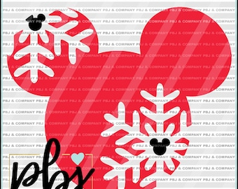 Disney Christmas SVG, Disney parks SVG, Mickey svg, Quote DIY Cutting File - svg, png, dxf - Files Silhouette Cameo/Cricut