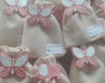 Birth favour bags born