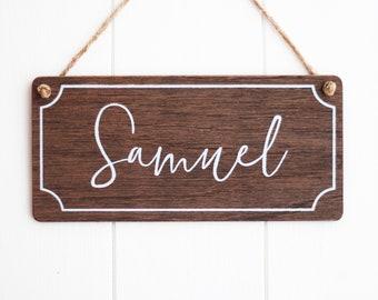 Kids Name Door Sign. Personalized Girls Room Decor. Custom ...